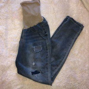 Jessica Simpson Distressed Maternity Jeans *LN*